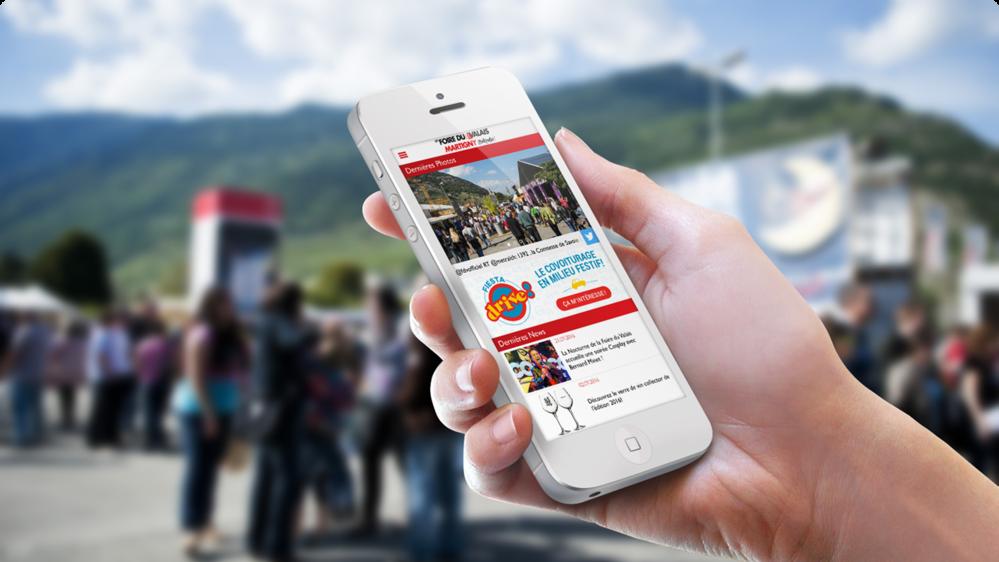 App Foire du Valais 2016