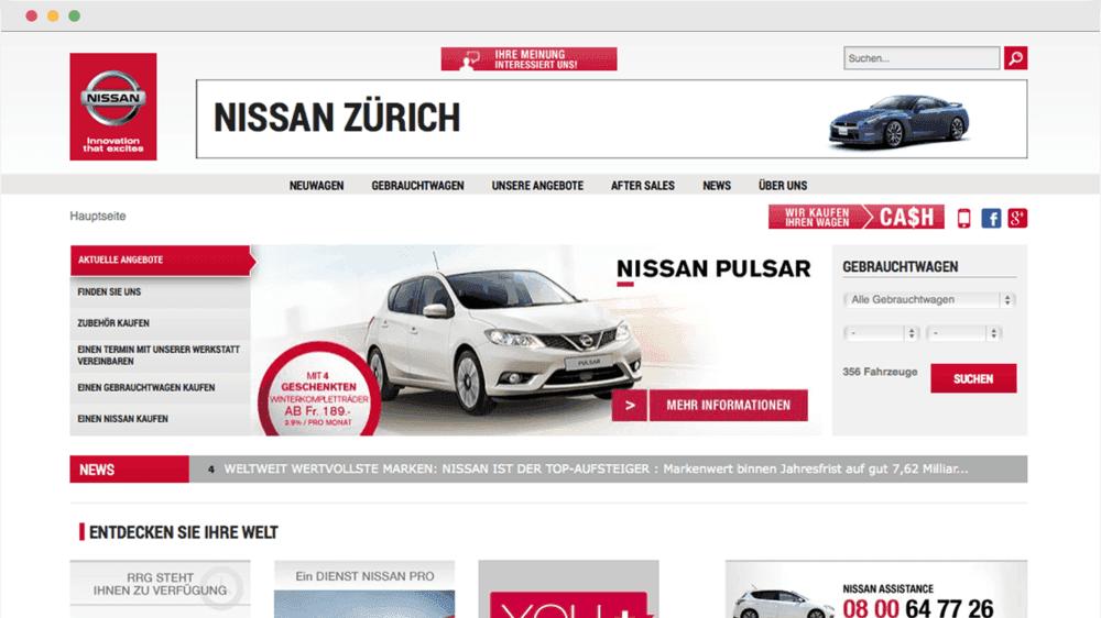 Nissan Zürich