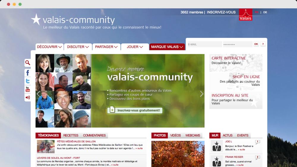 Valais-community