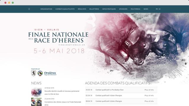 Finale Nationale de la Race Hérens